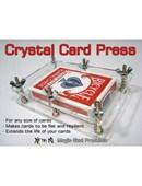 Crystal Card Press Trick