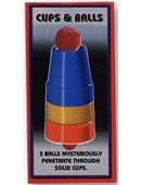 Cups & Balls - Plastic Trick