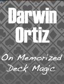 Darwin Ortiz on the Memorized Deck Magic download (video)