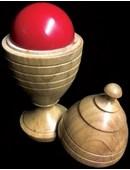 Deluxe Wooden Ball Vase Trick