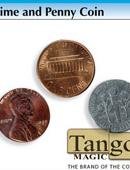 Dime and Penny Gimmicked coin