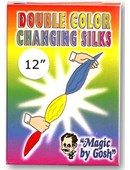 Double Color Changing Silk 12 inch Trick