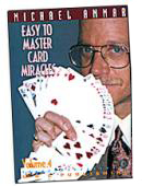 Easy to Master Card Miracles Volume 4 DVD or download
