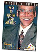 Easy to Master Card Miracles Volume 5 DVD or download