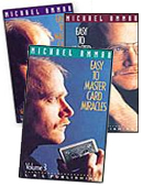 Easy to Master Card Miracles Volumes 1 - 3 DVD or download