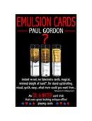 Emulsion Cards Trick