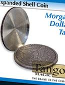 Expanded Shell - Morgan Dollar - Tails Gimmicked coin