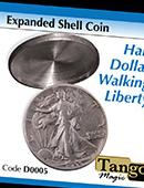 Expanded Shell - Walking Liberty - Silver Gimmicked coin