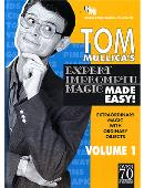 Expert Impromptu Magic Made Easy - Volume 1 DVD or download