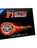 F1 Nitro Wallet Blue (DVD and Gimmick) DVD