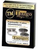 Fantasic Coins Quarter Dollar Aluminum Trick