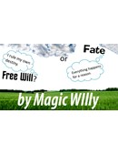 Fate or Free Will? magic by Luigi Boscia