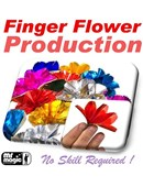 Finger Flower Production Trick