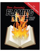 Flaming Bible Book