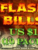 Flash Bill Ten Pack ($1) Accessory