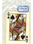 Flash Poker Card Queen of Spades Accessory