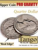 Flipper - Pro Gravity - Quarter Dollar Gimmicked coin