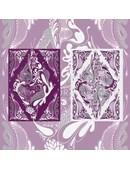 Floral Deck (Purple) Deck of cards