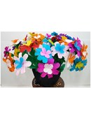 Flower Bouquet From Silk magic by Tora Magic