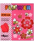 Four Balloon Flower Kit DIY SET Accessory