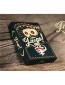 Fuego! - Day of the Dead Inspired Playing Cards (Luna Edition) Deck of cards