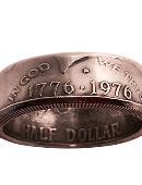Genuine Half-Dollar Ring Accessory