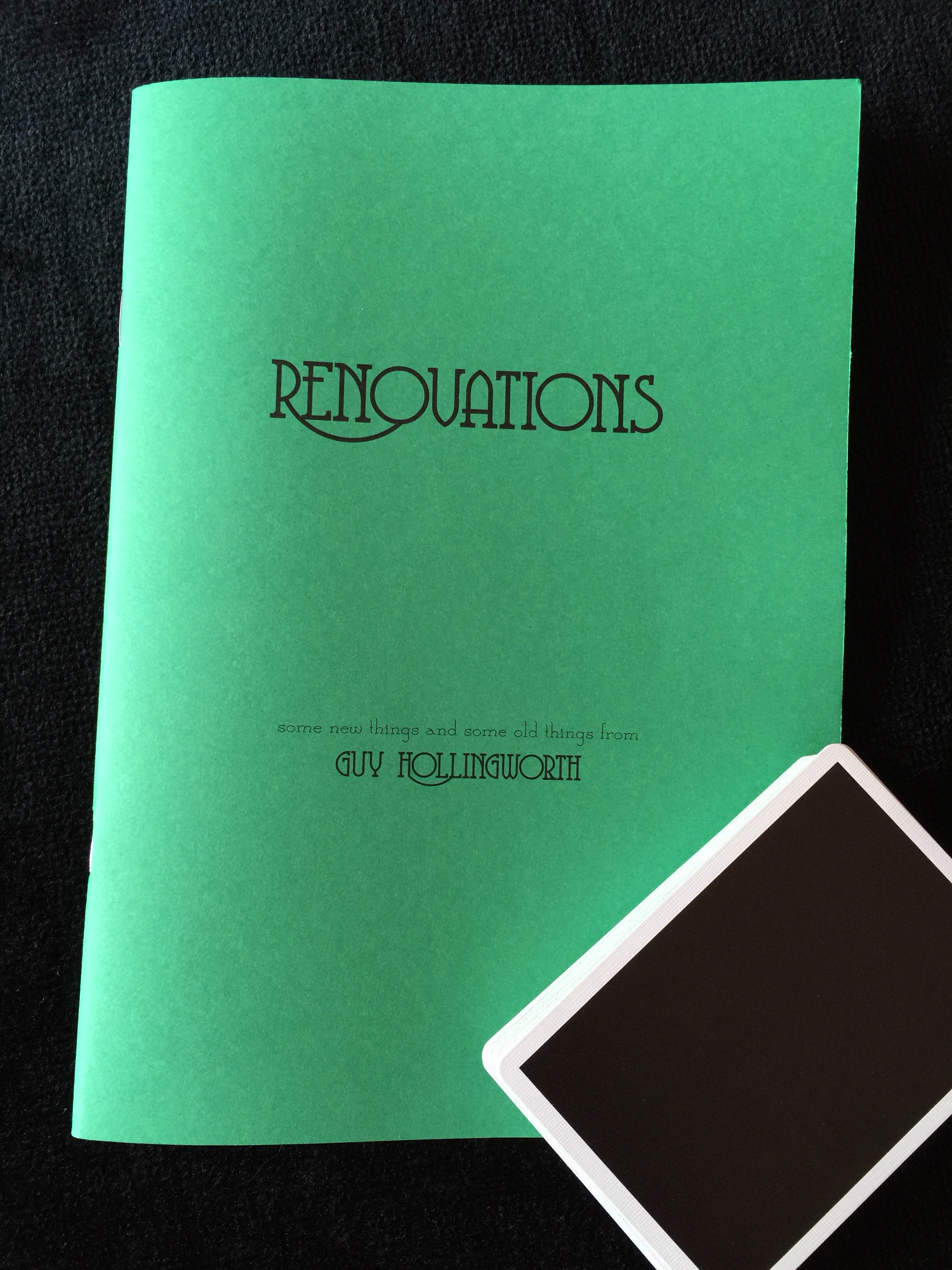 Guy Hollingworth's Renovations Book