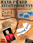 Hand-Picked Astonishments: Card Forces DVD or download