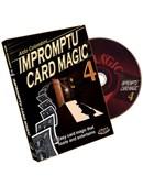 Impromptu Card Magic - Volume 4 DVD