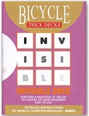 Invisible Deck (Bicycle Mandolin) Deck of cards