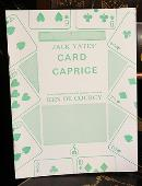 Jack Yates' Card Caprice Book