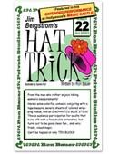 Jim Bergstrom's Hat Trick #22 Book