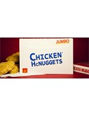 Jumbo Chicken Nugget Playing Cards - Red Deck of cards