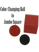 Jumbo Color Changing Ball to Square Accessory