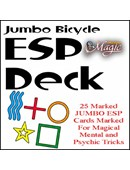 Jumbo Marked ESP Decks (Bicycle) Accessory