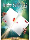 JUMBO Split Card magic by Tejinaya