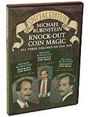 Knock Out Coin Magic DVD