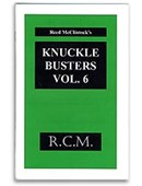 Knuckle Busters - Volume 6 Book