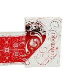 Love Art Deck Deck Limited Edition (Red) Deck of cards