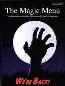 Magic Menu (Fall 2009) Book