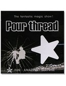 Magic Pour Thread Streamer /1pack Paper) Trick