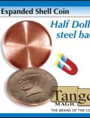 Expanded Shell - Half Dollar (magnetic) Gimmicked coin