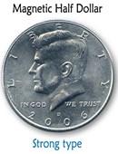 Magnetic US Half Dollar Accessory