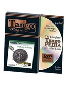 Magnetic Coin Walking Liberty DVD