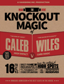 Main Event: The Knockout Magic of Caleb Wiles DVD or download