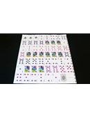 Memento Mori Playing Card Uncut Sheet Deck of cards