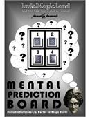 Mental Prediction Board Trick