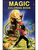 Mini Coloring Book  Sizes 5.5 inch x 8.5 inch- Trick Book