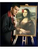Mona Lisa 2 magic by Alpha Magic International