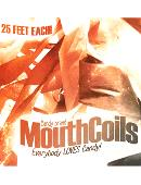 Mouth Coils 25 ft (Black/ Orange) Trick
